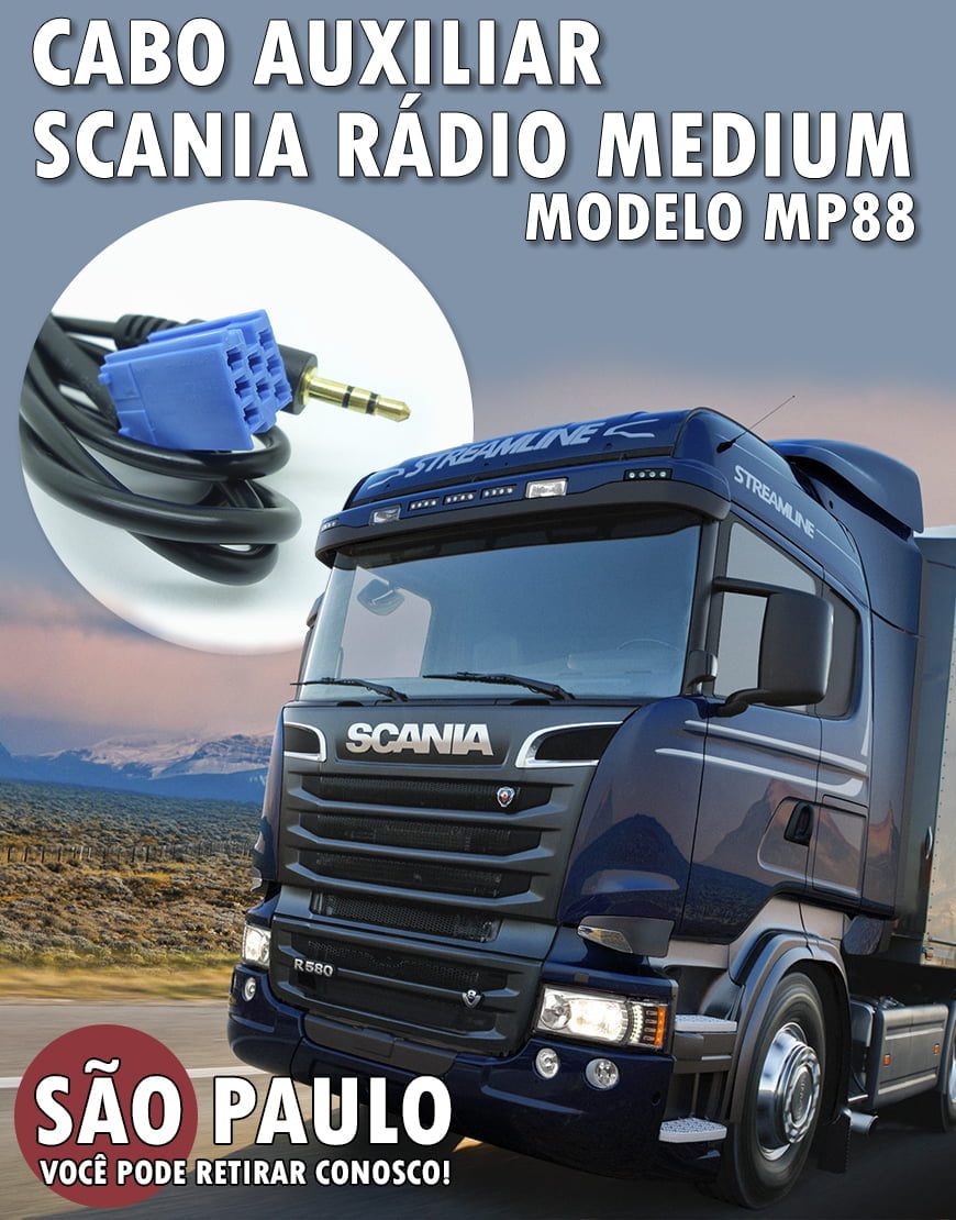 Cabo Auxiliar Do Radio Do Scania