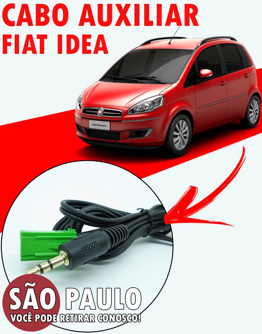Cabo Auxiliar Fiat Idea P2 Estereo