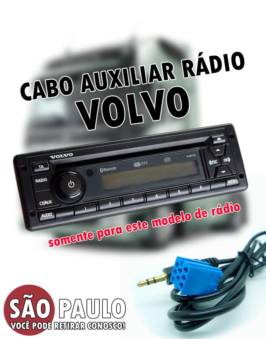 Cabo Auxiliar Rádio Volvo
