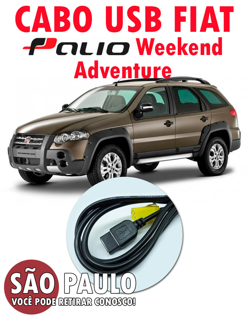 Cabo Usb Fiat Palio Adventure Weekend