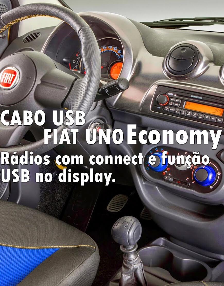 Cabo Usb Fiat Uno Economy