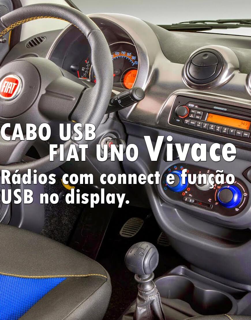 Cabo Usb Fiat Uno Vivace