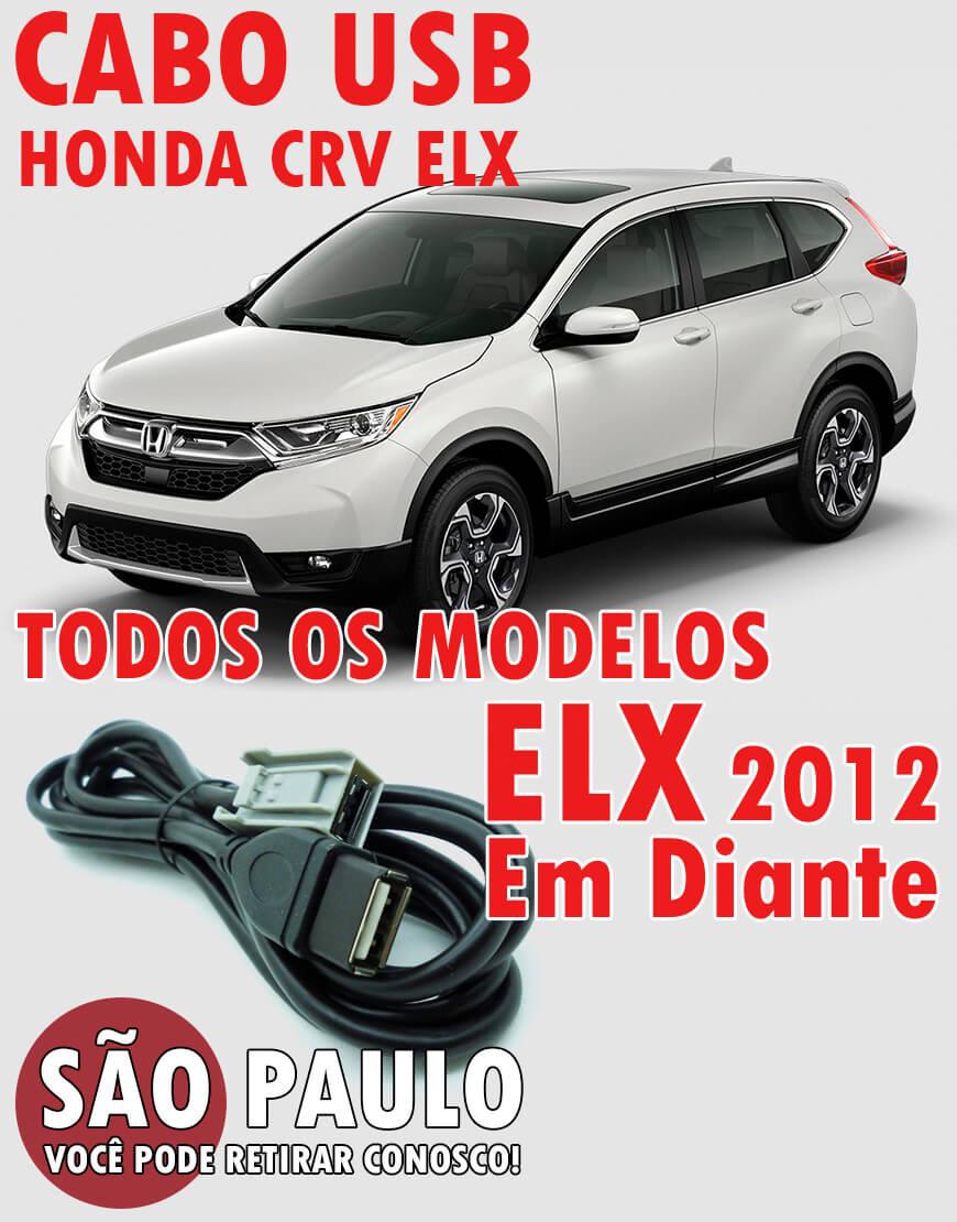 Cabo USB Honda Crv ELX 2012