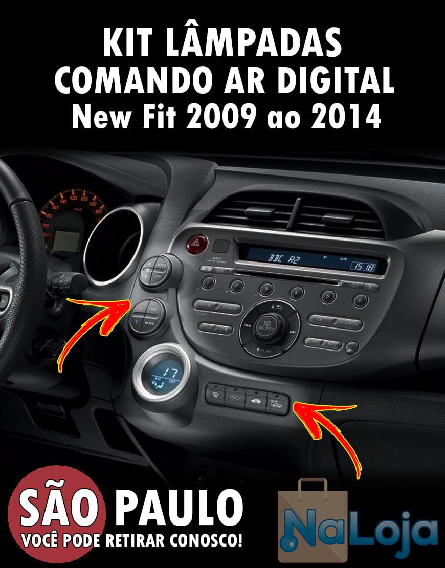Kit Lampadas Comando Do Ar New Fit Digital