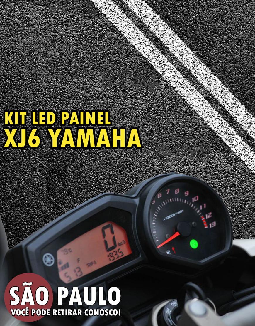 Kit LED Painel XJ6 Yamaha