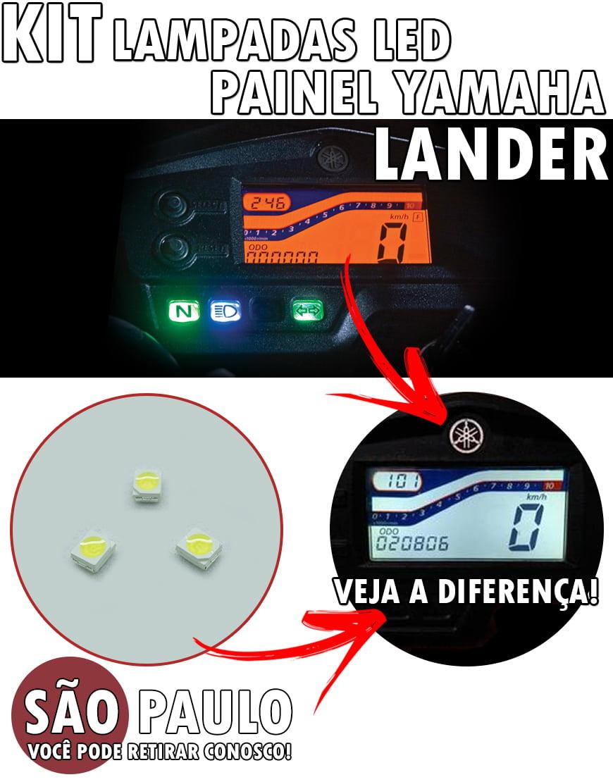 KIT Led Painel Yamaha Lander