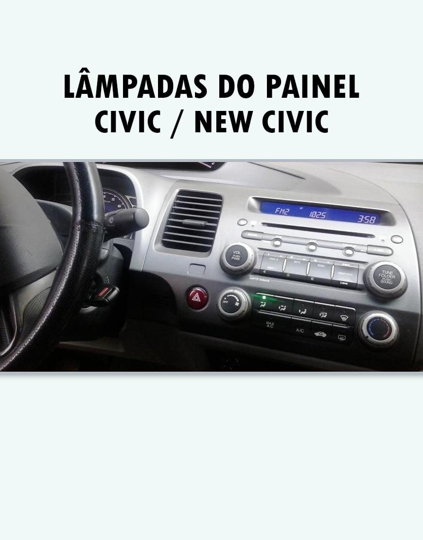 Lampada de 3mm Painel Civic New Civic
