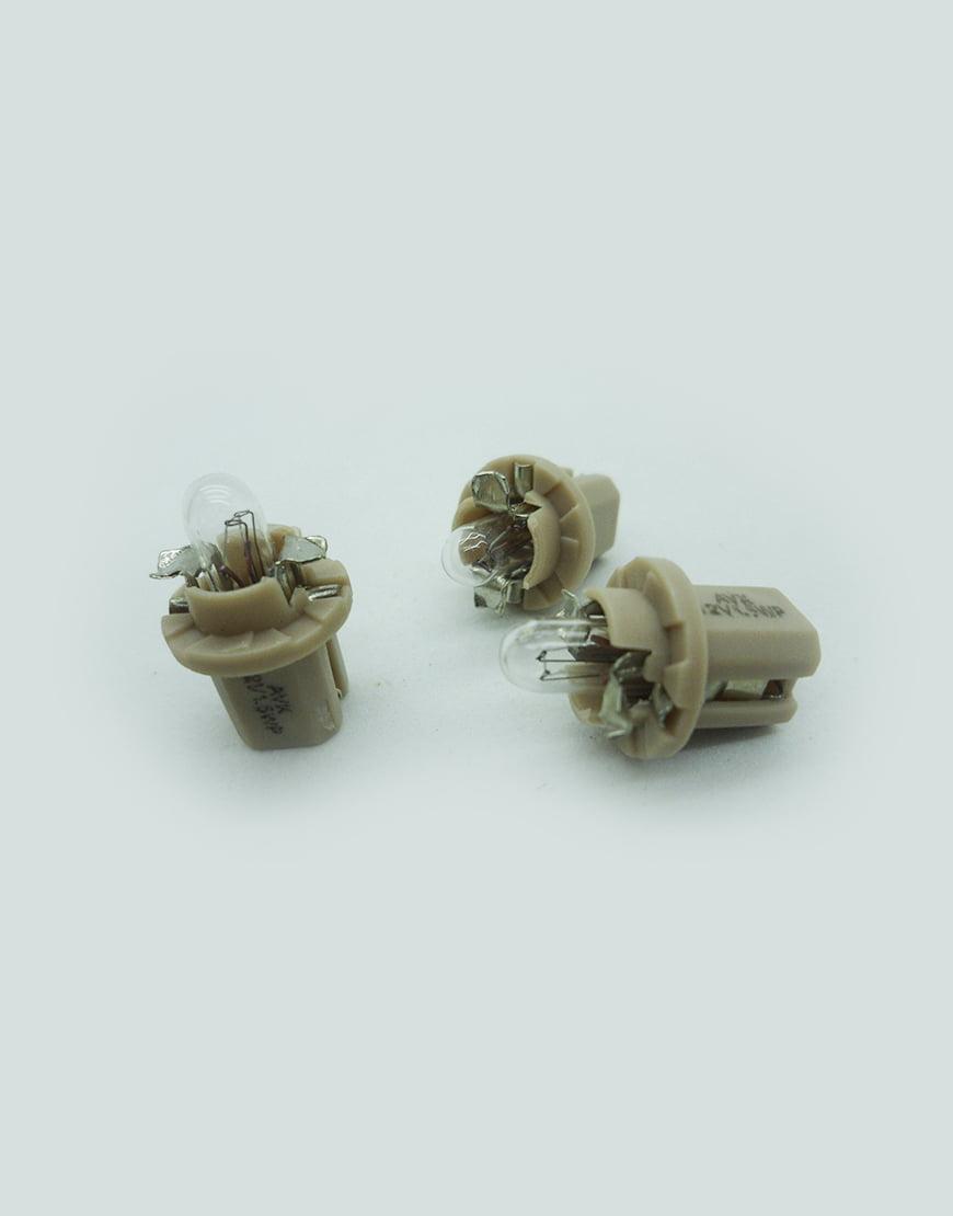 Lâmpada e soquete painel instrumentos linha Fiat GM - AVX11413