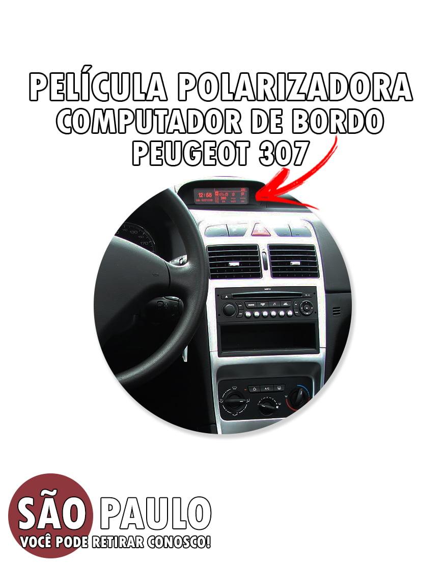 Película Polarizadora Computador De Bordo Peugeot 307