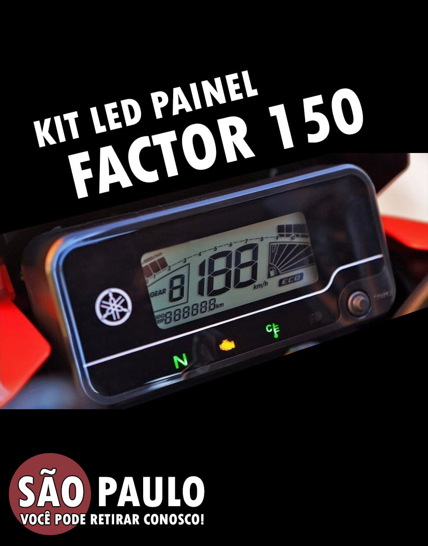 Kit Led Painel Factor 150