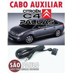 Cabo Auxiliar Citroen C4 Pallas Rd4 com Bluetooth