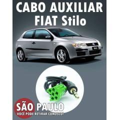 Cabo Auxiliar Fiat Stilo e Bluetooth com Chave De Remoção