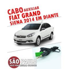 Cabo Auxiliar Grand Siena 2014 e Bluetooth Com Chave Remoção