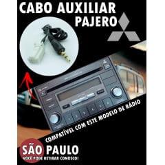Cabo Auxiliar Pajero com Bluetooth