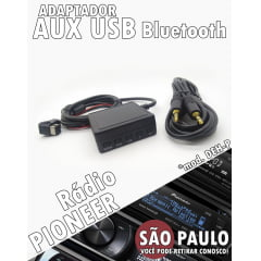 Adaptador Pioneer IP-BUS USB AUX Bluetooth