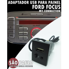 Cabo Adaptador Usb Ford Focus