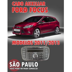 Cabo Auxiliar Cd Original Ford Focus 2011 ao 2013