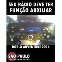 Cabo Auxiliar Fiat Doblo Adventure 2014