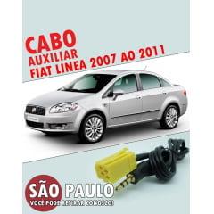 Cabo Auxiliar Fiat Linea 2007 ao 2011 com Chave De Remoção