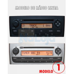 Cabo Auxiliar Fiat Linea 2012 Bluetooth com Chave De Remocao