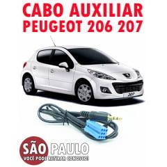 Cabo Auxiliar Peugeot 206 e 207 com Chave De Remoção