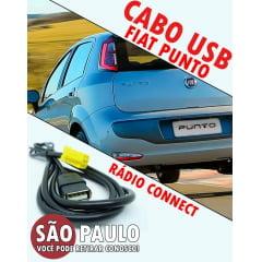 Cabo Fiat Punto Usb com Chave Remoção