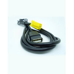 Cabo Fiat Punto USB e AUX 2013 ao 2016 com Chave De Remoção