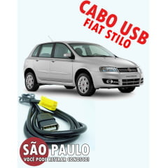 Cabo Fiat Stilo Usb Connect 2009 Ao 2011