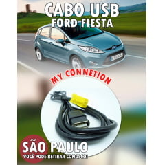 Cabo Usb Cd Original Ford Fiesta