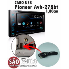 Cabo Usb Dvd Pioneer Avh-278bt