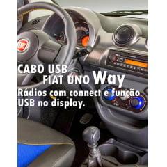 Cabo Usb Fiat Uno Way