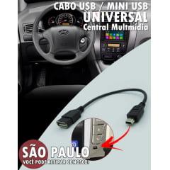 Cabo Usb Mini Usb Central Multimidia Universal
