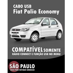Cabo Usb Para Radio Original Fiat Palio