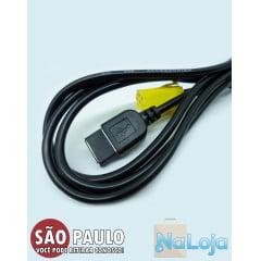 Kit Cabo Aux Usb Connect Palio + Chave Remoção
