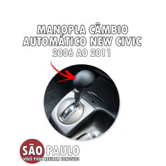 Manopla Cambio Automatico New Civic 2006 Ao 2011