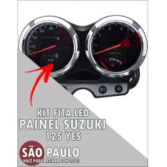 Kit Fita Led Painel Suzuki 125 Yes