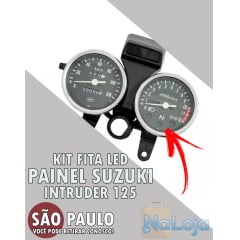 Kit Fita Led Painel Suzuki Intruder 125