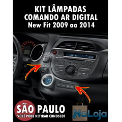 Kit Lampadas Comando Do Ar New Fit Digital