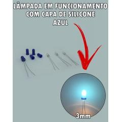 Kit Lampadas New Fit Comando do AR com Capa de Silicone 3mm