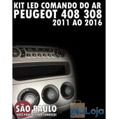 Kit Led Comando Do Ar Peugeot 408 308 2011 Ao 2016