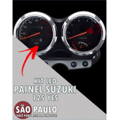 Kit Led Painel Suzuki 125 Yes