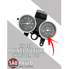 Kit Led Painel Suzuki Intruder 125