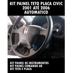 Kit Painel Teto Placa Civic 2001 Ao 2006 Automatico
