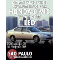 Lampada LED Painel Instrumentos Civic 1996 ao 2000