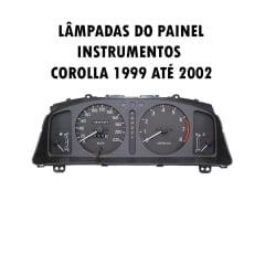Kit Lâmpadas Corolla Painel Instrumentos 1999 ao 2002