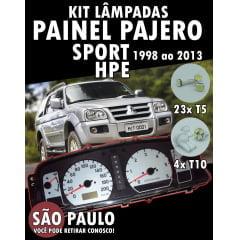 Kit Lampadas Led Painel Pajero Sport Hpe 1998 Ao 2013