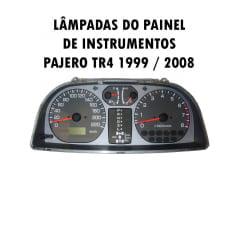 Kit Lâmpadas Painel Pajero Tr4 1999 ao 2008