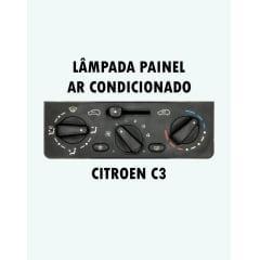 Lâmpadas Citroen C3 Painel Ar