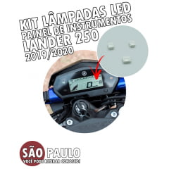 Kit Led Painel Lander 250 2019 2020