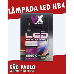 Lampada LED HB4 6000k 3200LM HEAD LIGHT